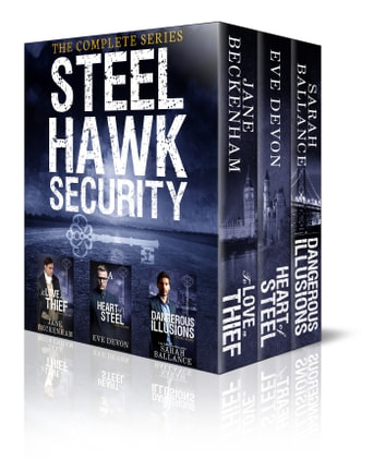 Steel Hawk Security ebook by Jane Beckenham,Eve Devon,Sarah Ballance