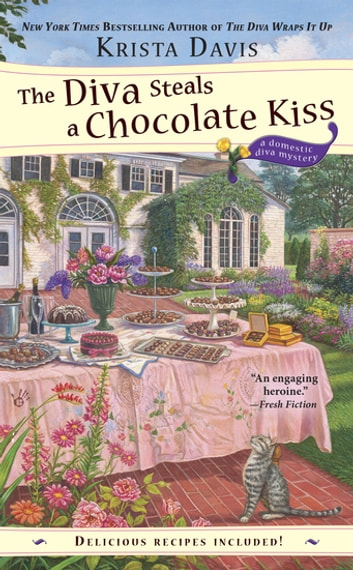The Diva Steals a Chocolate Kiss ebook by Krista Davis