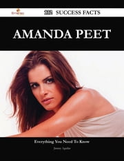 Amanda Peet 132 Success Facts - Everything you need to know about Amanda Peet ebook by Jimmy Aguilar