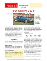Porsche 964 Buying Guide ebook by Mellor, Chris
