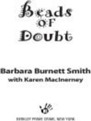 Beads of Doubt ebook by Barbara Burnett Smith,Karen MacInerney