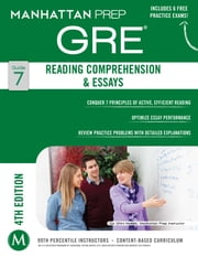 GRE Reading Comprehension & Essays ebook by Manhattan Prep