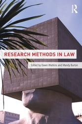 Research Methods in Law ebook by