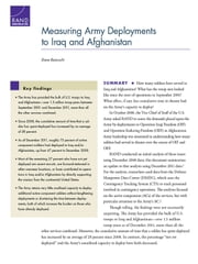 Measuring Army Deployments to Iraq and Afghanistan ebook by Dave Baiocchi