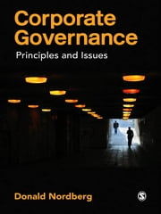 Corporate Governance - Principles and Issues ebook by Mr Donald Nordberg