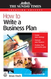 How To Write A Business Plan ebook by Brian Finch
