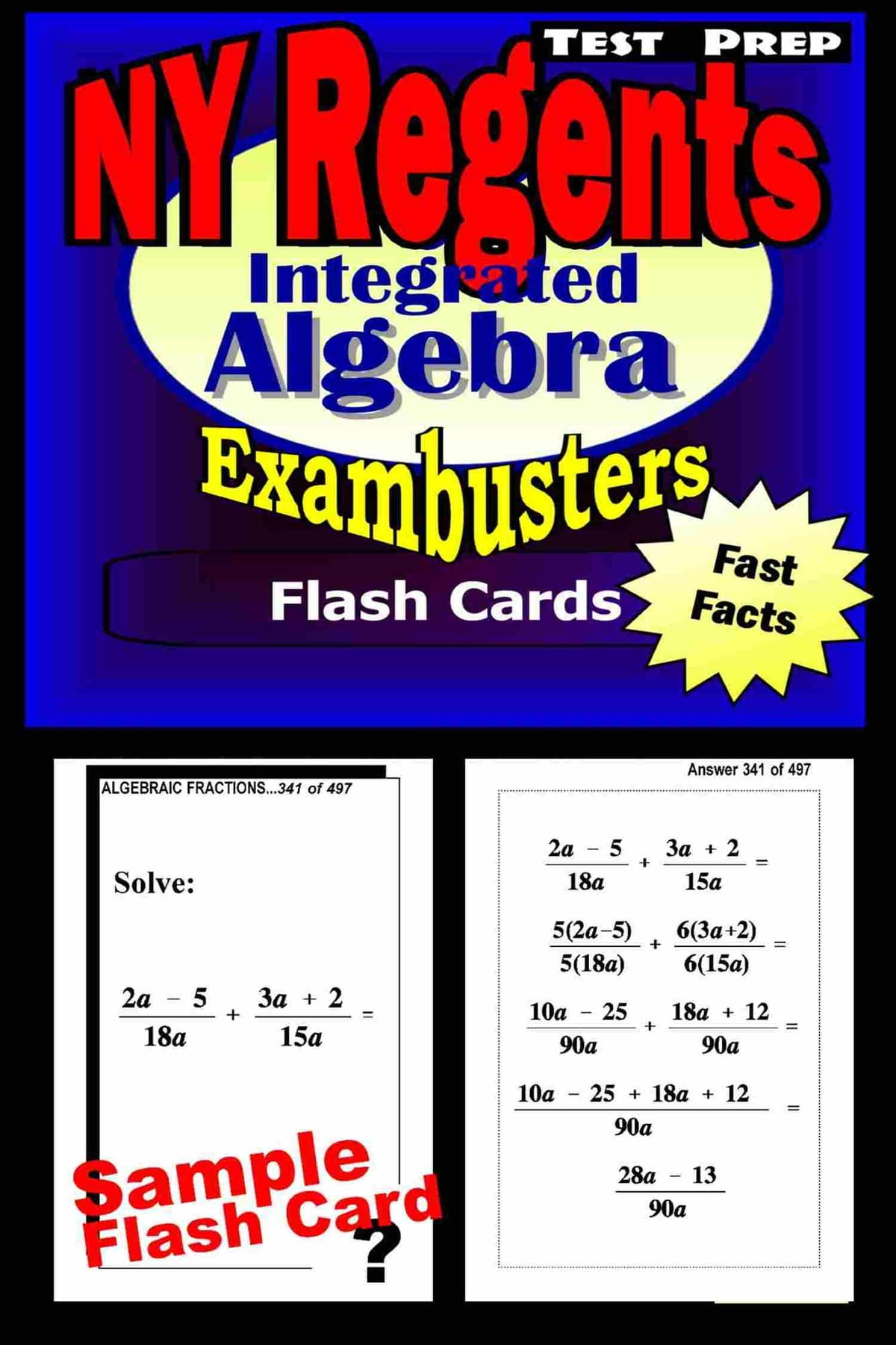 NY Regents Integrated Algebra Test Prep Review--Exambusters Flashcards  ebook by Regents Exambusters - Rakuten Kobo