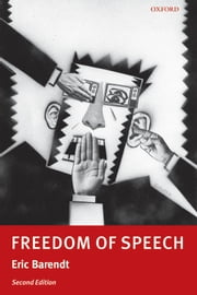 Freedom of Speech ebook by Eric Barendt