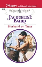 Husband on Trust ebook by Jacqueline Baird