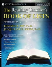 The Reading Teacher's Book Of Lists ebook by Edward B. Fry,Jacqueline E. Kress
