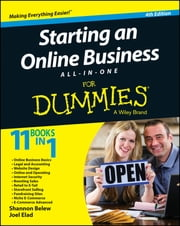 Starting an Online Business All-in-One For Dummies ebook by Shannon Belew,Joel Elad