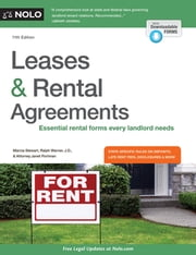 Leases & Rental Agreements ebook by Marcia Stewart,Ralph Warner, Attorney,Janet Portman, Attorney