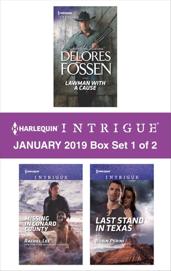 Harlequin Intrigue January 2019 - Box Set 1 of 2 - An Anthology 電子書 by Delores Fossen,Rachel Lee,Robin Perini
