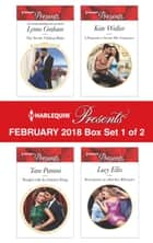 Harlequin Presents February 2018 - Box Set 1 of 2 - The Secret Valtinos Baby\Bought with the Italian's Ring\A Proposal to Secure His Vengeance\Redemption of a Ruthless Billionaire 電子書籍 by Lynne Graham, Tara Pammi, Kate Walker,...