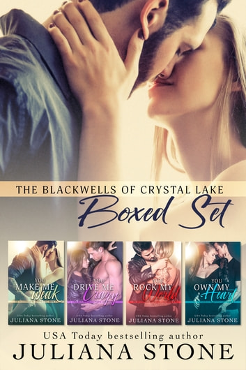 The Blackwells of Crystal Lake Complete Boxed Set 電子書 by Juliana Stone