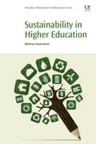 Sustainability in Higher Education ebook by J. Paulo Davim