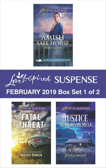 Harlequin Love Inspired Suspense February 2019 - Box Set 1 of 2 - A Wholesome Western Romance ebook by Debby Giusti,Valerie Hansen,Jenna Night