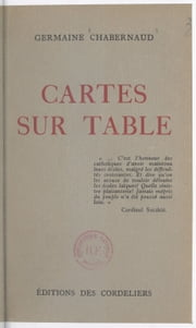Cartes sur table ebook by Germaine Chabernaud