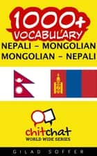 1000+ Vocabulary Nepali - Mongolian ebook by Gilad Soffer