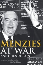 Menzies at War ebook by Anne Henderson