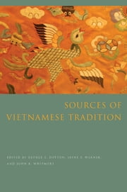 Sources of Vietnamese Tradition ebook by