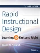 Rapid Instructional Design ebook by George M. Piskurich