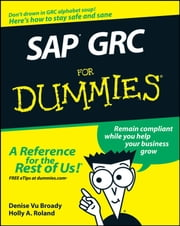 SAP GRC For Dummies ebook by Denise Vu Broady,Holly A. Roland