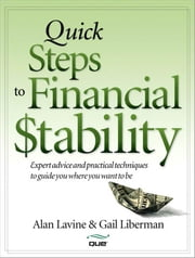 Quick Steps to Financial Stability ebook by Lavine, Alan