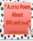 A Little Poem about Big and Small ebook by Linda Anderson