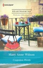 Unspoken Words ebook by Mary Anne Wilson