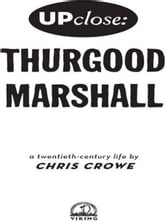 Thurgood Marshall ebook by Chris Crowe