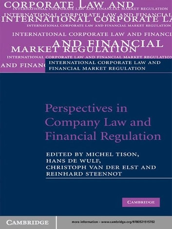 Perspectives in Company Law and Financial Regulation ebook by