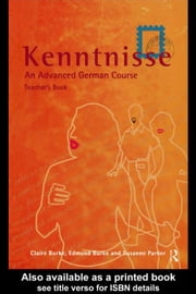 Kenntnisse ebook by Burke, Claire