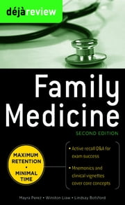 Deja Review Family Medicine, 2nd Edition ebook by Mayra Perez,Winston Liaw,Lindsay Botsford