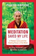 Meditation Saved My Life - A Tibetan Lama and the Healing Power of the Mind ebook by Phakyab Rinpoche, Sofia Stril-Rever