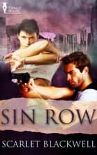Sin Row ebook by Scarlet Blackwell