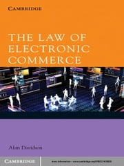 The Law of Electronic Commerce ebook by Alan Davidson