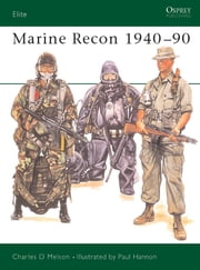 Marine Recon 1940?90 ebook by Charles Melson,Paul Hannon