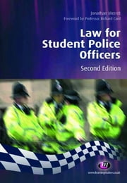 Law for Student Police Officers ebook by Jonathan Merritt