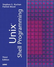 Unix Shell Programming ebook by Kochan, Stephen G.