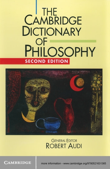 The Cambridge Dictionary of Philosophy ebook by