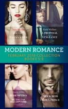 Modern Romance Collection: February 2018 Books 5 - 8 (Mills & Boon e-Book Collections) ebook by Tara Pammi, Kate Walker, Lucy Ellis,...