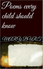 Poems Every Child Should Know by Mary E. Burt