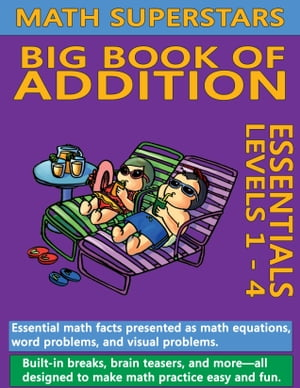 Math Superstars Big Book of Addition