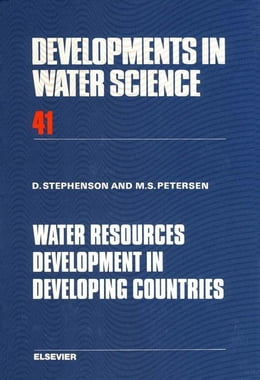 Book Water Resources Development in Developing Countries by Peterson, M.S.