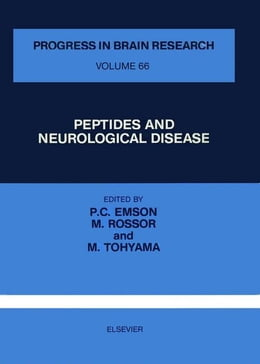 Book PEPTIDES AND NEUROLOGICAL DISEASE by Emson, Piers C