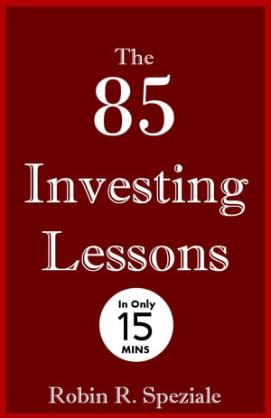 The 85 Investing Lessons