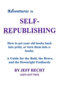 Adventures in Self-Republishing
