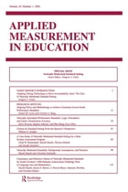 Vertically Moderated Standard Setting: A Special Issue of applied Measurement in Education