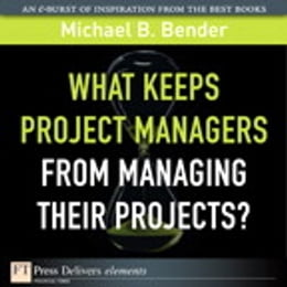 Book What Keeps Project Managers from Managing Their Projects by Michael B. Bender